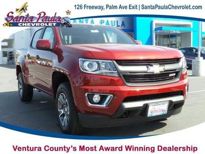 2017 Chevrolet Colorado Z71 Crew Cab, Short Box
