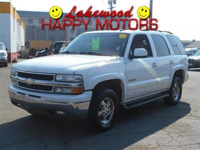 Used 2002 Chevrolet Tahoe