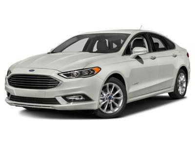 New 2017 Ford Fusion Hybrid SE