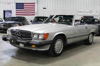 Used 1986 Mercedes-Benz 560SL