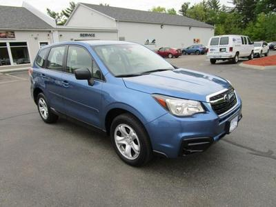 Used 2017 Subaru Forester 2.5i