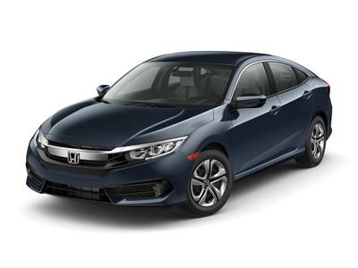 New 2017 Honda Civic LX