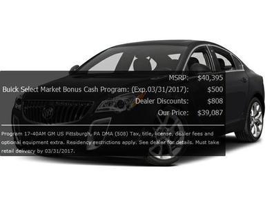 New 2017 Buick Regal Turbo Premium II