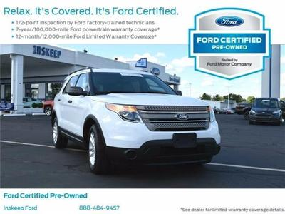 Certified 2015 Ford Explorer Base