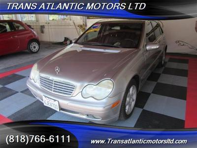 Used 2004 Mercedes-Benz C320