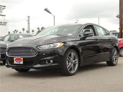 New 2015 Ford Fusion Titanium