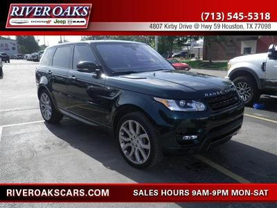 Used 2016 Land Rover Range Rover Sport 5.0L Supercharged Dynamic