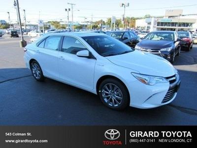New 2016 Toyota Camry Hybrid XLE