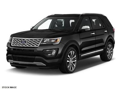 New 2017 Ford Explorer Platinum