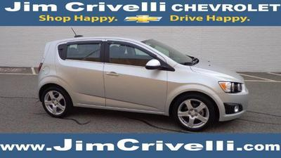 Certified 2015 Chevrolet Sonic LTZ