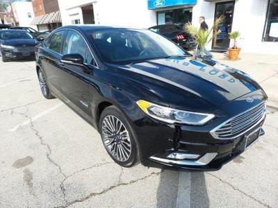 Used 2017 Ford Fusion Hybrid Titanium