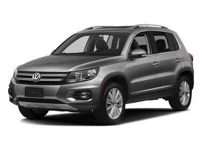 New 2017 Volkswagen Tiguan Wolfsburg Edition
