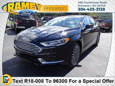 New 2018 Ford Fusion SE
