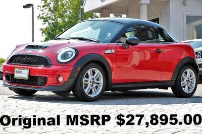 Used 2013 MINI Coupe Cooper S