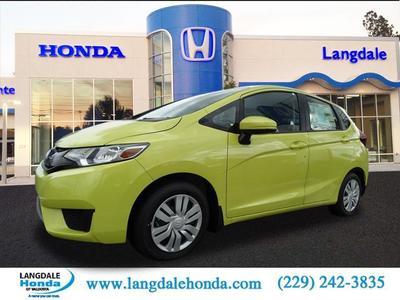 New 2017 Honda Fit LX