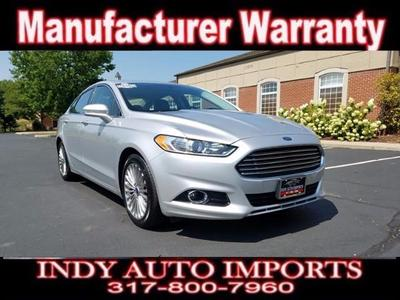 Used 2016 Ford Fusion Titanium