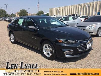 New 2018 Chevrolet Malibu 1LS