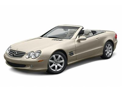 Used 2003 Mercedes-Benz SL500 Roadster