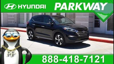 New 2017 Hyundai Tucson Limited