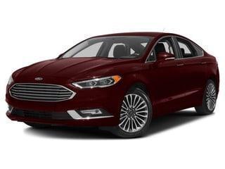 New 2018 Ford Fusion Titanium
