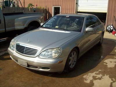 Used 2000 Mercedes-Benz S500