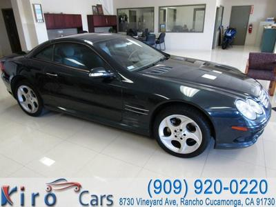 Used 2003 Mercedes-Benz SL 500 Roadster