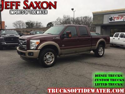 2011 Ford F-350 King Ranch