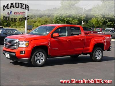 New 2017 GMC Canyon SLE