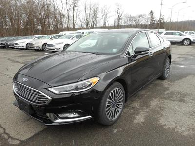 New 2017 Ford Fusion Titanium