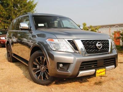 New 2017 Nissan Armada Platinum