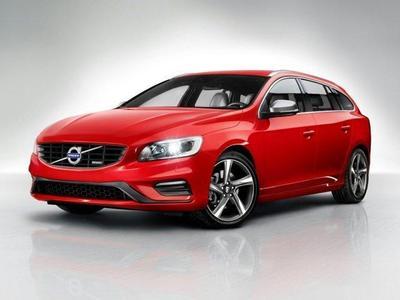 New 2018 Volvo V60 T6 R-Design Platinum