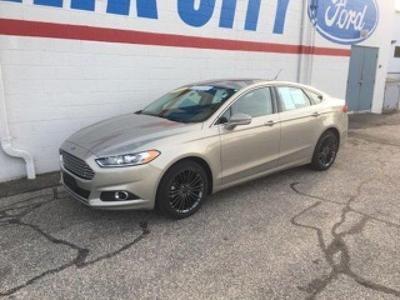 Certified 2015 Ford Fusion SE