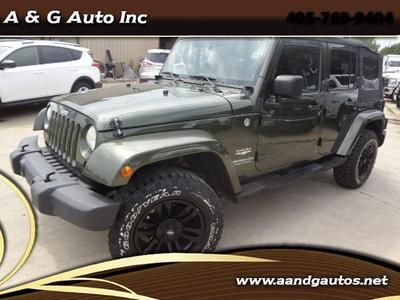 Used 2007 Jeep Wrangler Unlimited Sahara