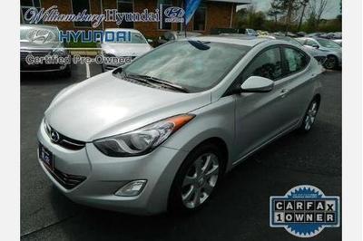 Certified 2012 Hyundai Elantra LIMITED