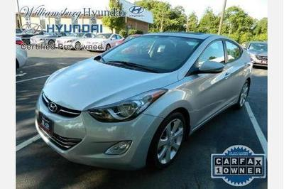 Certified 2013 Hyundai Elantra LIMITED