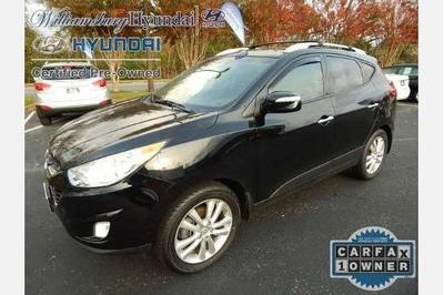 Certified 2012 Hyundai Tucson LIMITED