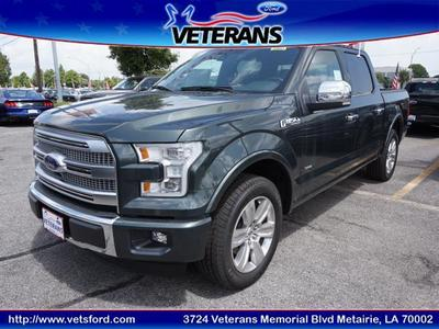 New 2015 Ford F-150 Platinum