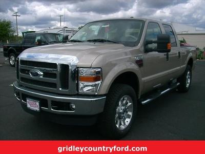 New 2009 Ford F250 Lariat Super Duty Crew Cab