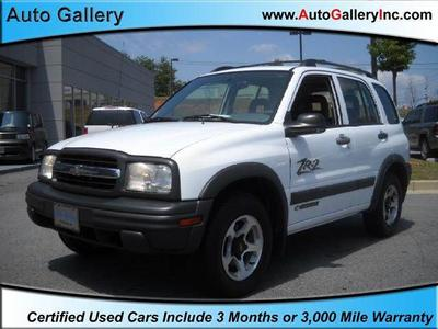 Used 2002 Chevrolet Tracker ZR2