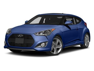 New 2013 Hyundai Veloster Turbo w/Black Int