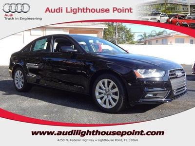 New 2014 Audi A4 2.0T Premium