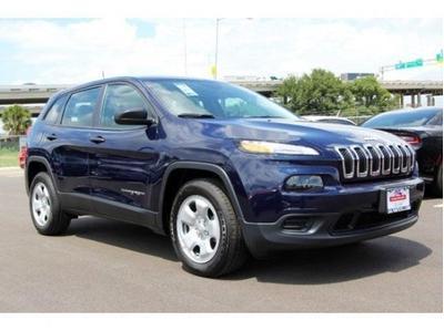 New 2016 Jeep Cherokee Sport