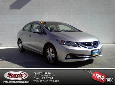 New 2013 Honda Civic Hybrid Base