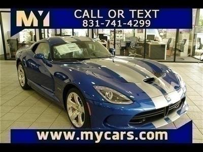 New 2013 Dodge SRT Viper GTS
