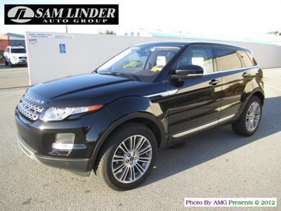 New 2012 Land Rover Range Rover Evoque Pure Plus