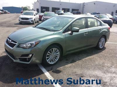 New 2015 Subaru Impreza 2.0i Premium