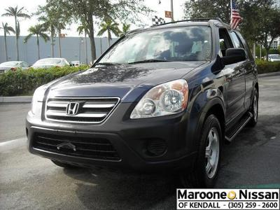 Used 2005 Honda CR-V LX