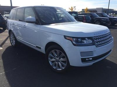 New 2016 Land Rover Range Rover 3.0L Turbocharged Diesel HSE Td6