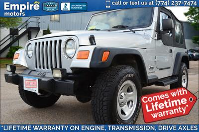 Used 2004 Jeep Wrangler SE