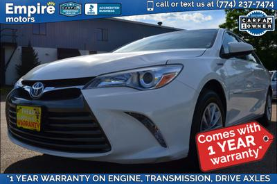 Used 2016 Toyota Camry Hybrid LE